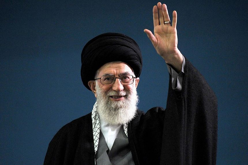 "Iran's top decision-maker Ayatollah Ali Khamenei said today that while he is not against a resumption of nuclear negotiations with the world's major powers, the talks will ""lead nowhere"". -- PHOTO: AFP"