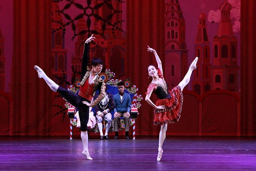 The Singapore Dance Theatre's production of The Nutcracker.The Media Development Authority (MDA) will conduct a pilot for a proposed scheme which allows arts groups to classify their own performances in the second quarter of the year. -- FILE