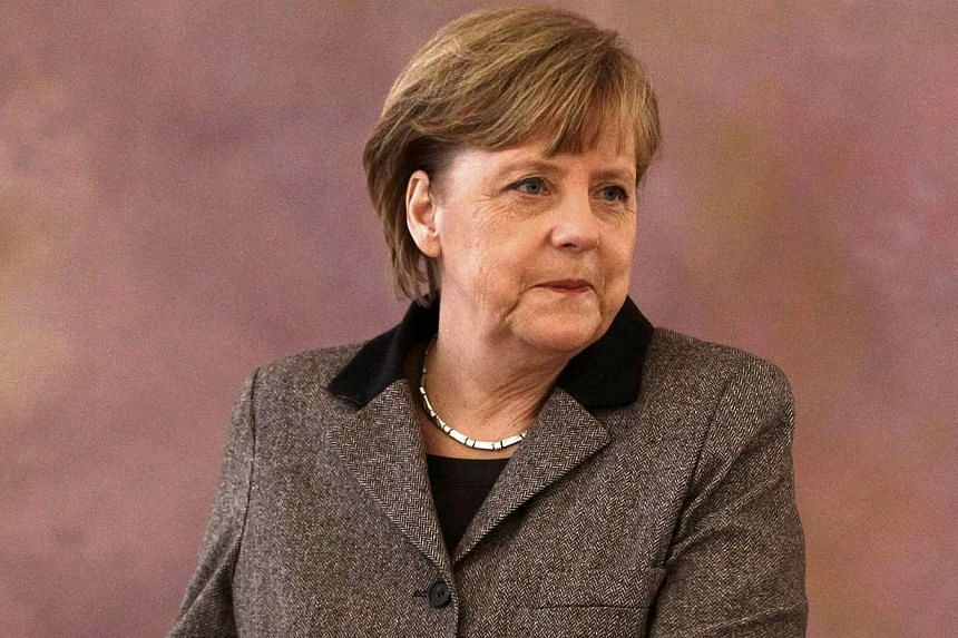 Chancellor Angela Merkel aimed to restore public confidence in her governing coalition at a meeting of party chiefs on Tuesday to clear the air after a scandal that poisoned the atmosphere. -- FILE PHOTO: AFP