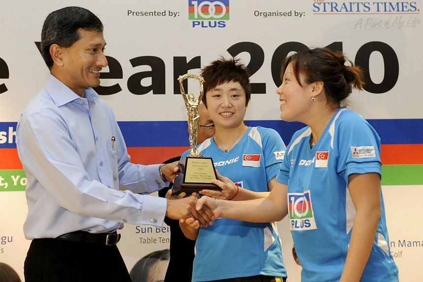 2010: National women's table tennis teamWhy they won:- Won the World Team Table Tennis Championships by stunning the mighty China team in the final.- Culmination of a successful period in which they also clinched an Olympic team silver at the 2008 Be
