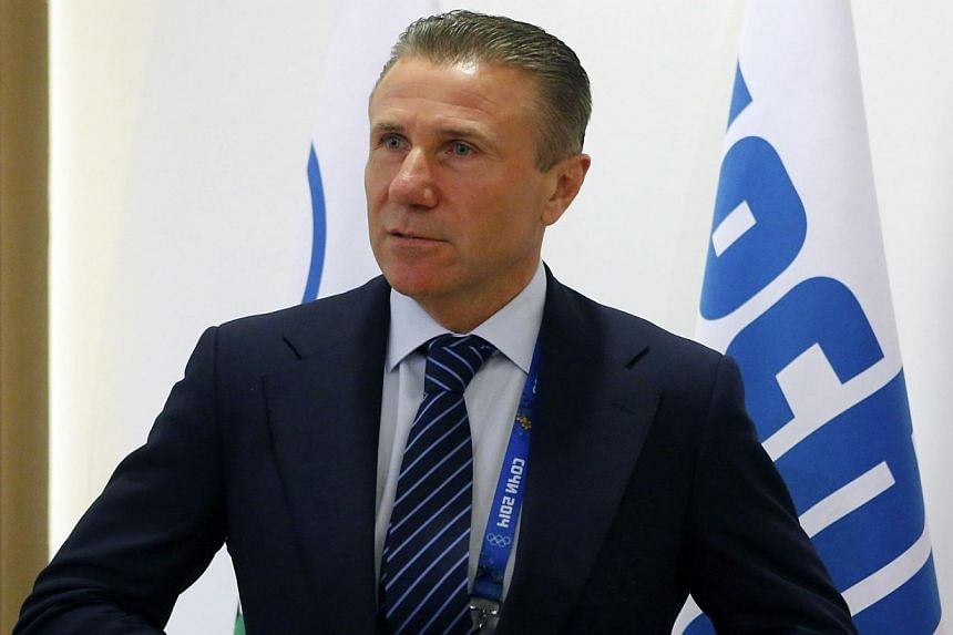 Ukrainian Olympic Committee chief and former pole vault champion Sergey Bubka on Wednesday, Feb 19, 2014, called for an end to violence in his country as Ukraine's athletes struggled to focus on competing at the Sochi Winter Games. -- FILE PHOTO: REU