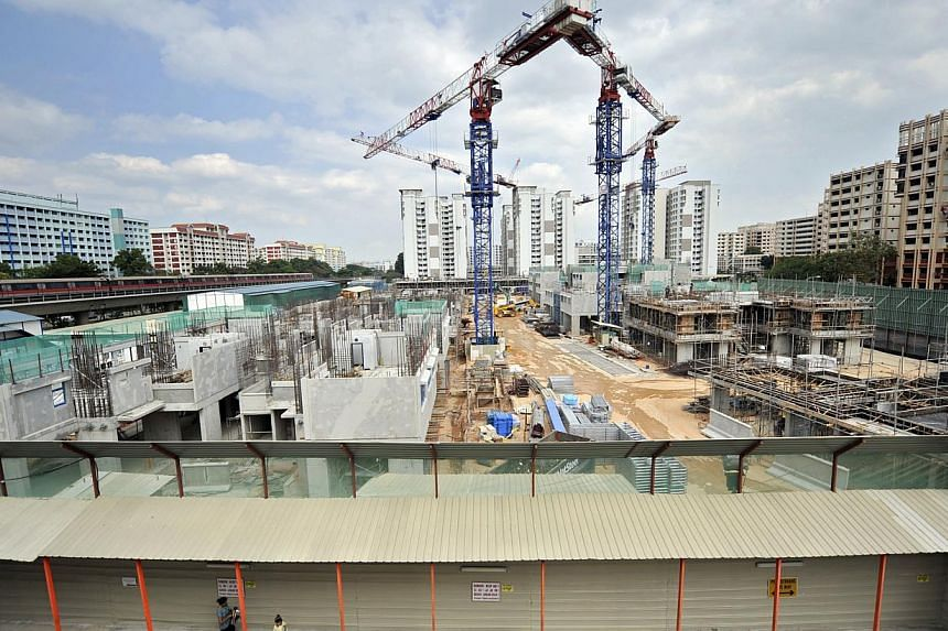 A new $10 million fund to help construction firms invest in quieter machines and noise control equipment with the aim of promoting a quieter living environment was announced by the National Environment Agency (NEA) on Thursday morning. -- ST FILE PHO