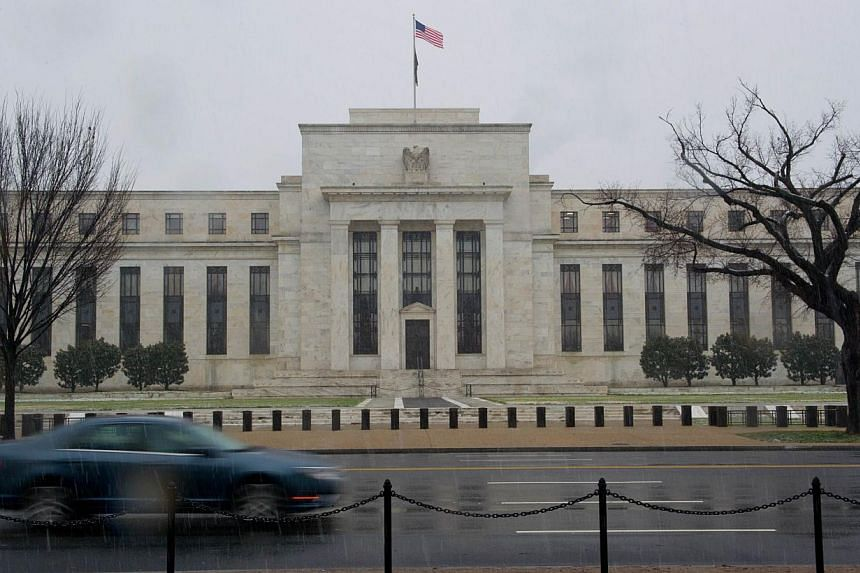 File picture of the US Federal Reserve. -- PHOTO: AFP