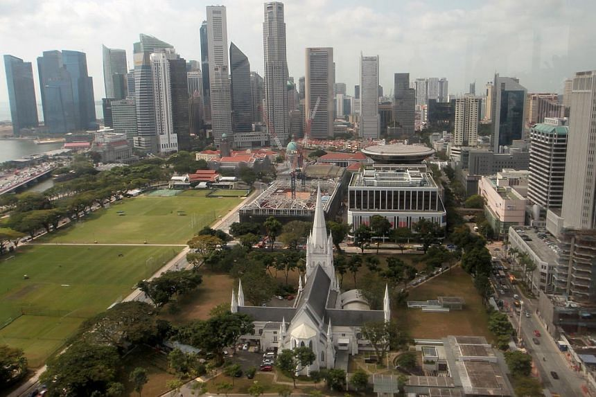 The Singapore economy's growth exceeded official flash estimates released last month of 3.7 per cent growth, and also beat the forecasts this week of several economists, who had tipped an expansion of between 3.9 and 4 per cent. -- ST FILE PHOTO: NEO