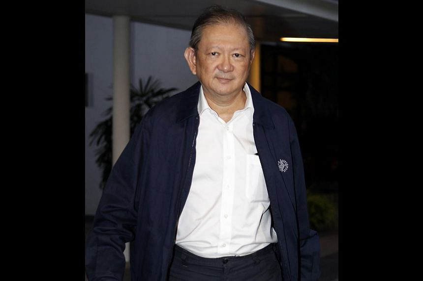 Former Ministry of Foreign Affairs (MFA) protocol chief Lim Cheng Hoe, 61, was sentenced to 15 months' jail on Thursday. -- ST FILE PHOTO:WONG KWAI CHOW