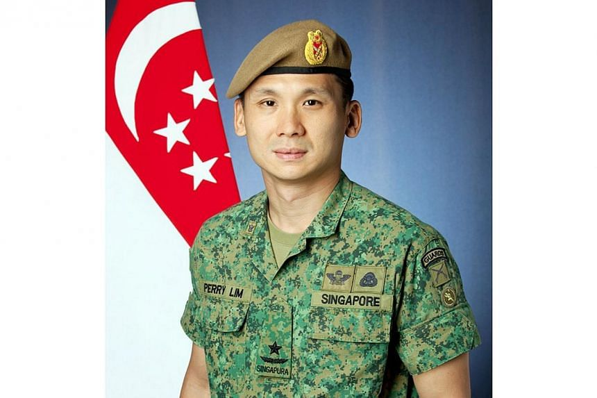 Brigadier-General (BG) Perry Lim Cheng Yeow, currently Chief of Staff (General Staff), will take over from Major-General Ravinder Singh as Chief of Army on March 21, 2014.-- PHOTO:MINDEF