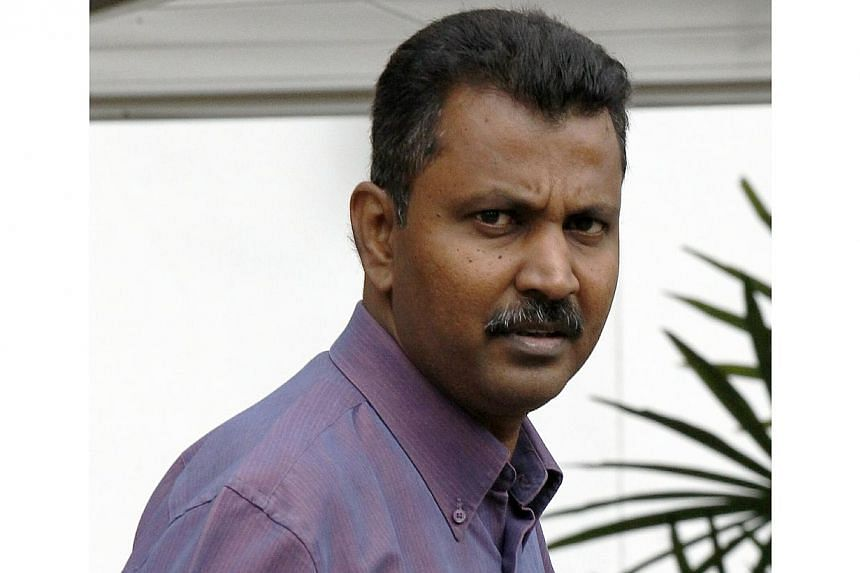 Alex Rajan Anthony Samy, 47, director of Mitsui Technologies Pte Ltd, was sentenced to five weeks in jail on Feb 21, 2014 for fraudulently claiming a Productivity and Innovation Credit (PIC) cash payout of $60,000 for his company. -- ST FILE PHOTO: W