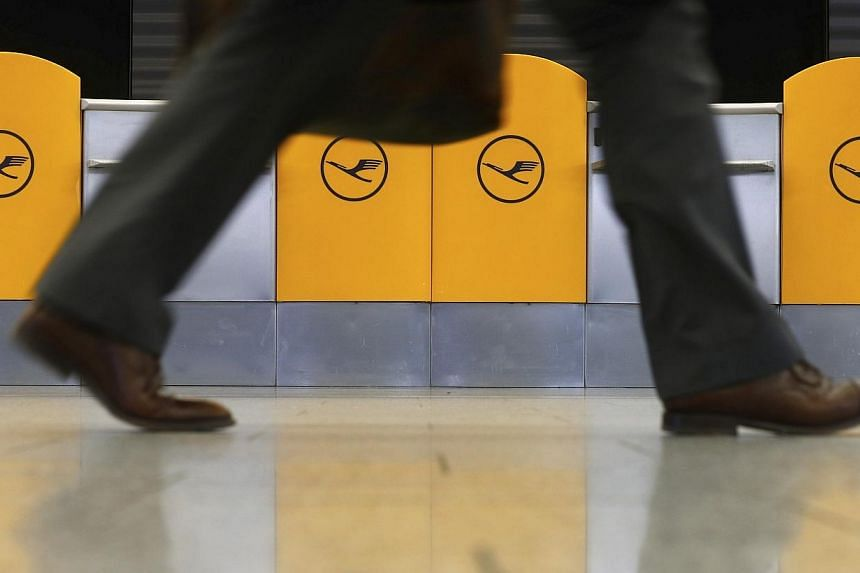 Security workers at Frankfurt airport went on strike on Friday, Feb 21, 2014, prompting dozens of flight cancellations and causing delays to travellers passing through Europe's third-largest hub. -- FILE PHOTO: REUTERS