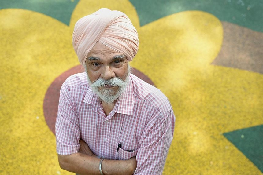 Profile of Mr Surjan Singh, 82, who has been a volunteer probation officer for more than 40 years. He is receiving an award at the inaugural MSF Volunteer Awards Ceremony on Feb 21, 2014.-- ST PHOTO:NG SOR LUAN