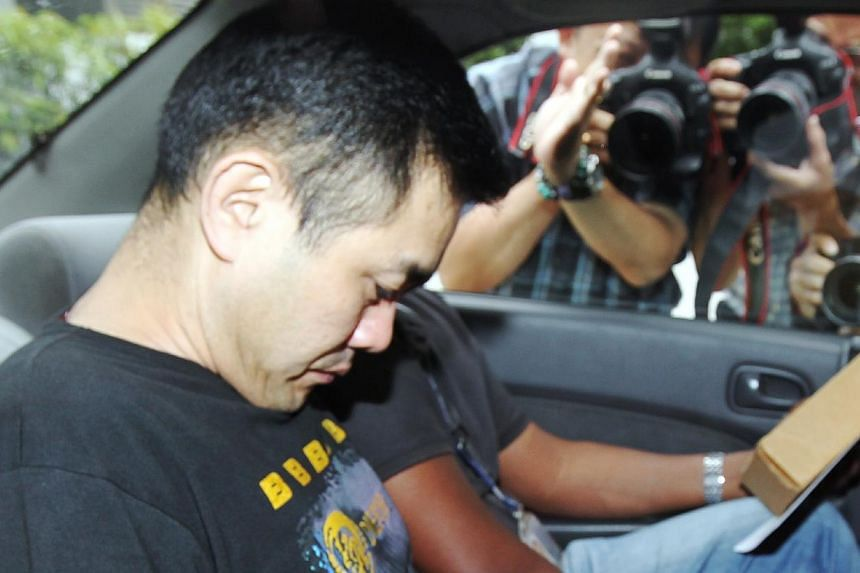 Lim Wee Thong, who isaccused of stabbing his girlfriend to death with a vegetable knife, pleaded guilty to murder on Friday, just four days into his 16-day trial.-- ST FILE PHOTO:WONG KWAI CHOW