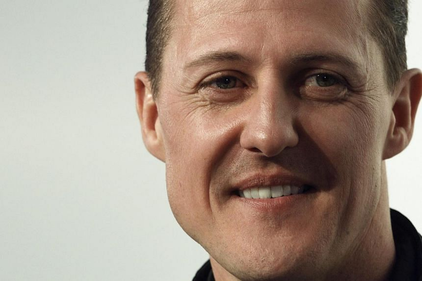 Formula One legend Michael Schumacher, who is slowly being brought out from a coma following a ski accident, showed several responses during a recent visit, a friend was quoted as saying on Saturday, Feb 22, 2014. -- FILE PHOTO: REUTERS