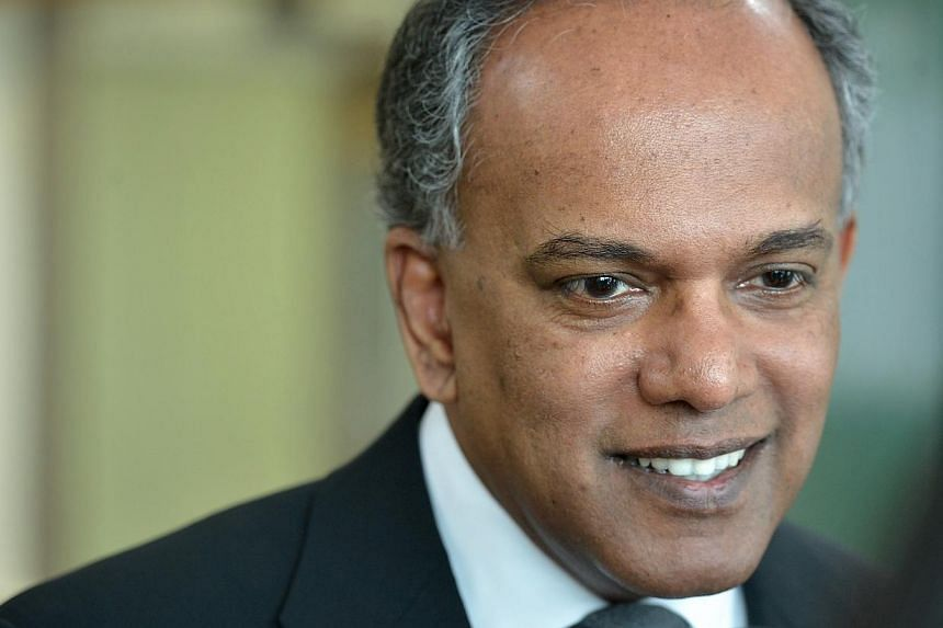 Sinagpore'sForeign Affairs Minister K. Shanmugam will set off for the Middle East on Sunday, Feb 23, 2014, as part of a five-day regional tour. -- ST FILE PHOTO:KUA CHEE SIONG