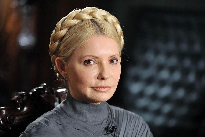 A photo taken on Feb 2, 2011 shows Ukraine's former Prime Minister and leader of the opposition Yulia Tymoshenko posing in her residence in Kiev during an interview. A close ally of Ukraine's jailed opposition icon Yulia Tymoshenko was named interim