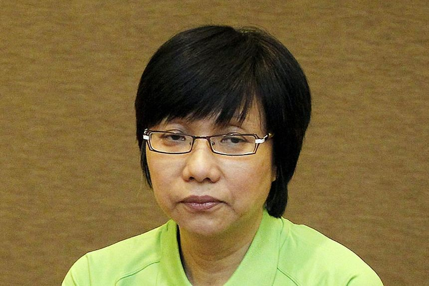 Ms Chia says the labour movement is ''heartened that the Government has heeded our call'' on the CPF rates. -- ST PHOTO: RAJ NADARAJAN