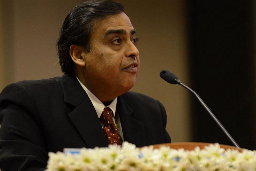 India's wealthiest tycoon Mukesh Ambani rejected on Tuesday, Feb 25, 2014, allegations by anti-corruption fighter Arvind Kejriwal that he holds illegal accounts abroad. -- FILE PHOTO: AFP