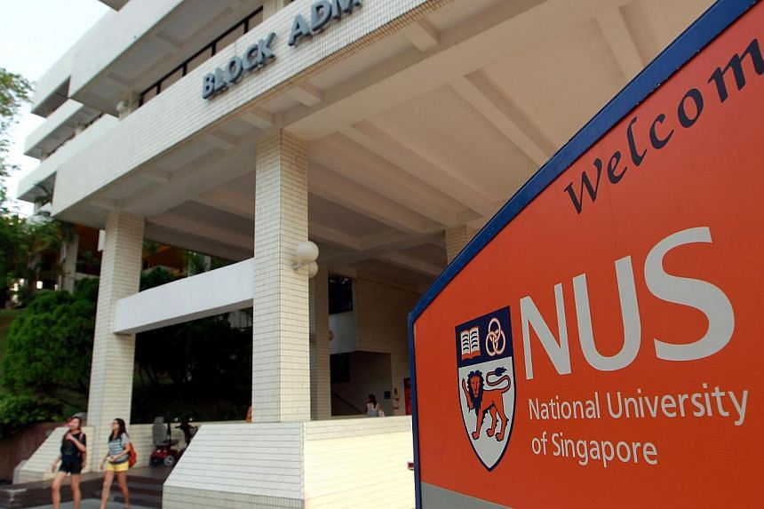 The National University of Singapore (in photo) and Nanyang Technological University have emerged as world-beaters in a ranking released by London-based education consultancy Quacquarelli Symonds. -- ST FILE PHOTO:SEAH KWANG PENG