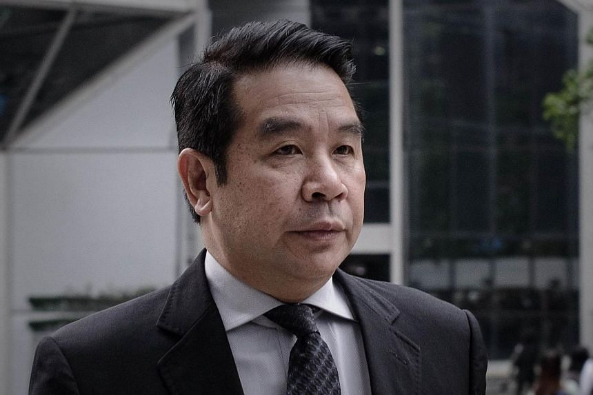 Birmingham City owner Carson Yeung arriving at the Wanchai district court in Hong Kong on May 3, 2013. Hong Kong's Carson Yeung went from humble hairdresser to owning a top-tier English football club, but his rags-to-riches tale raised questions