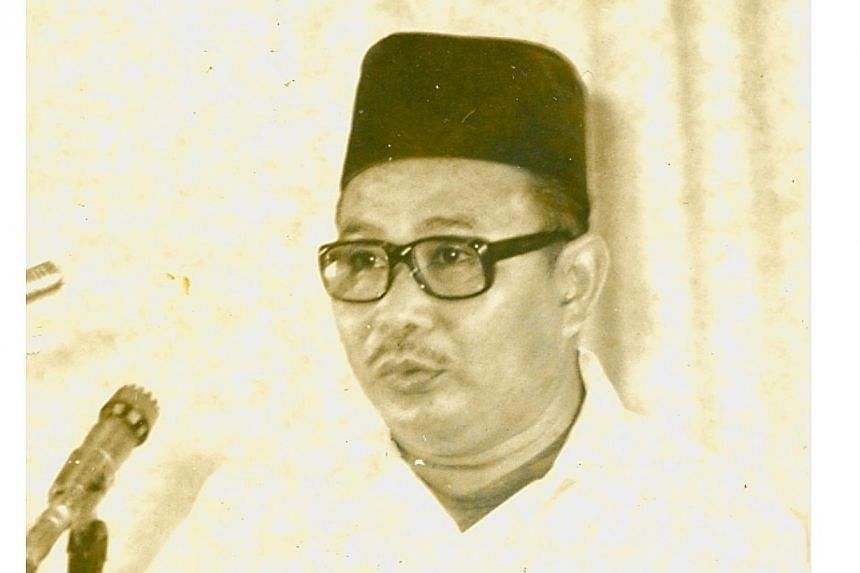 Former Member of Parliament (MP) Mohamed Ariff Suradi.Prime Minister Lee Hsien Loong paid tribute to one of Singapore's first generation of leaders, Mohamed Ariff Suradi, who died on Tuesday, Feb 25, 2014, at the age of 84. -- ST FILE PHOTO:&nb