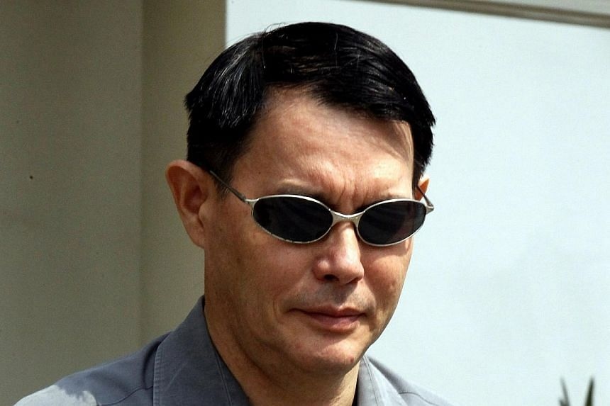 Eye surgeon Marc Tay Tze-Hsin, 53,who hid nearly $450,000 in extra earnings from his employer, has been fined $30,000.Tay was also fined $2,000 for breaching the Companies Act. -- ST PHOTO:WONG KWAI CHOW