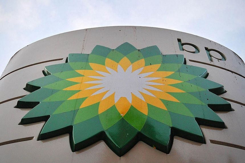 A sign for a BP petrol station in London on Oct 30, 2012. -- FILE PHOTO: AFP