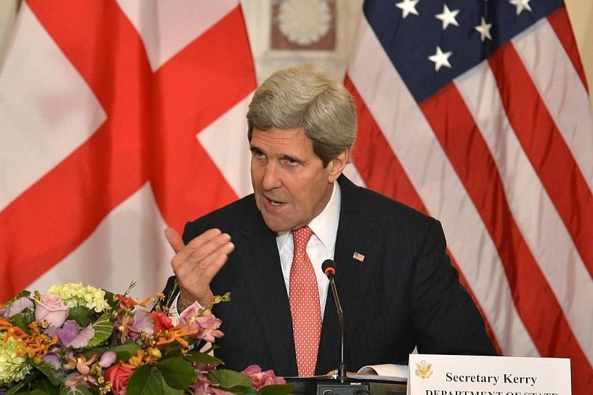US Secretary of State John Kerry on Wednesday, Feb 26, 2014, compared tough new anti-gay laws enacted in Uganda to anti-Semitic legislation in Nazi Germany or apartheid in South Africa. -- PHOTO: REUTERS
