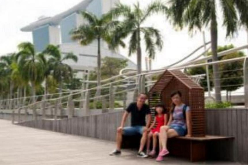 Shelter Bench by Lanzavecchia + Wai Design Studio. The Urban Redevelopment Authority has launched a contest to get the public to vote for their favourite bench designs and where they would like to see them installed. -- PHOTO:URBAN REDEVELOPMEN