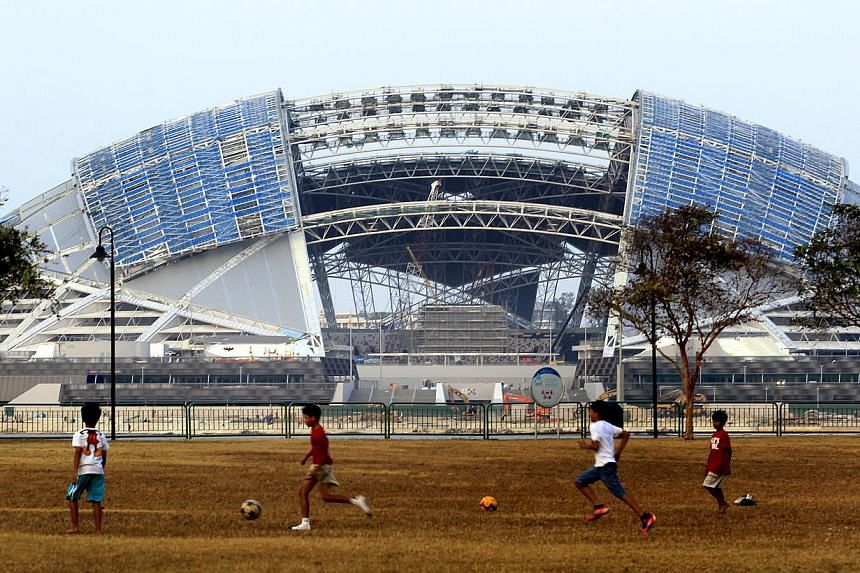 A Causeway clash between Singapore and Malaysia on Aug 8 has been confirmed as the first football match that will take place at the new National Stadium, after the Singapore Sports Hub announced a line-up of events that will be held there this year.