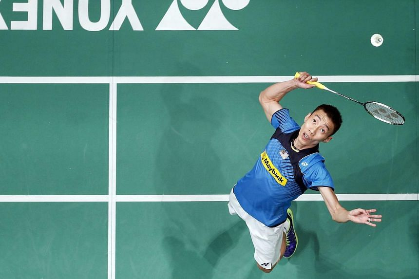 Malaysian world No. 1 badminton player Lee Chong Wei has confirmed his participation in April 8-13's OUE Singapore Open at the Singapore Indoor Stadium. -- PHOTO: REUTERS