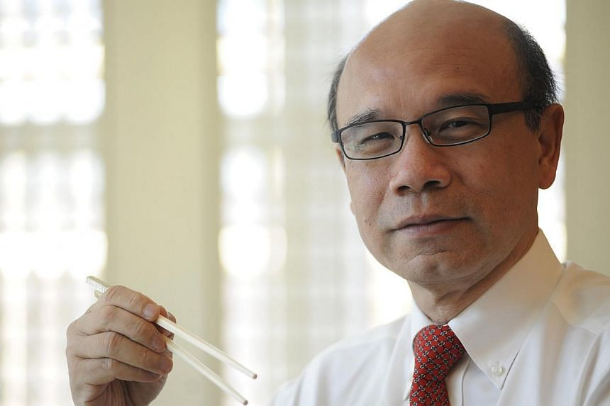 """Singapore Jewellers Association president Ho Nai Chuen says the way items are weighed is """"not unfair""""."""