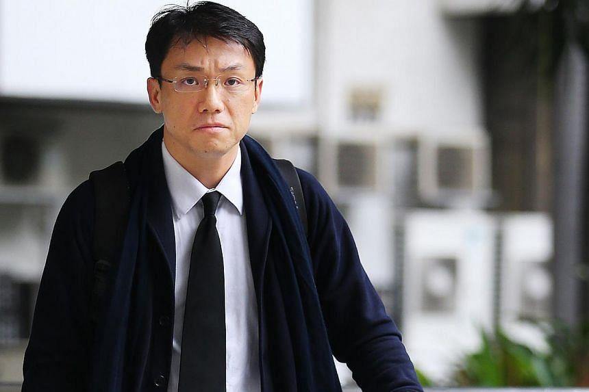 Law professor Tey Tsun Hang outside court on May 7, 2013. -- TNP FILE PHOTO: GARY GOH