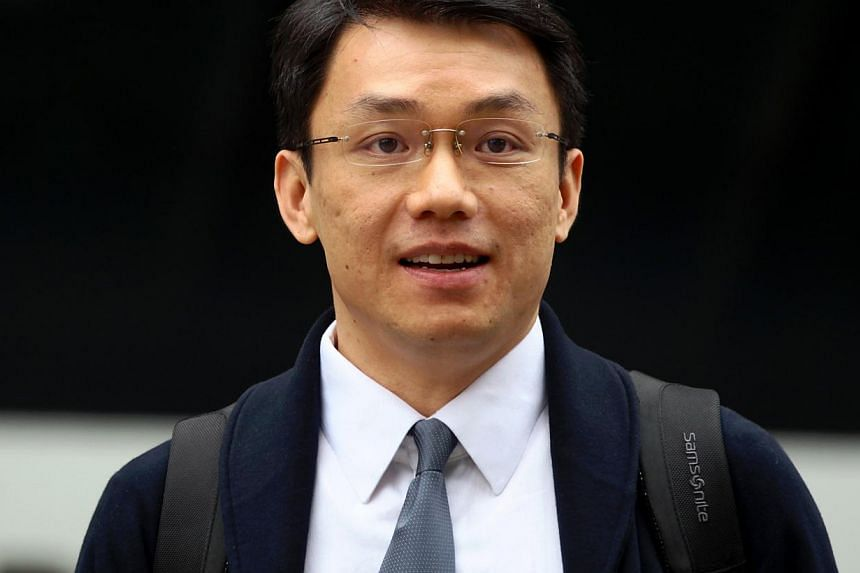 Law professor Tey Tsun Hang was convicted on May 28, 2013, of all six counts of corruptly accepting sex and gifts from his student at the National University of Singapore in return for giving her better grades. -- TNP FILE PHOTO: GAVIN FOO