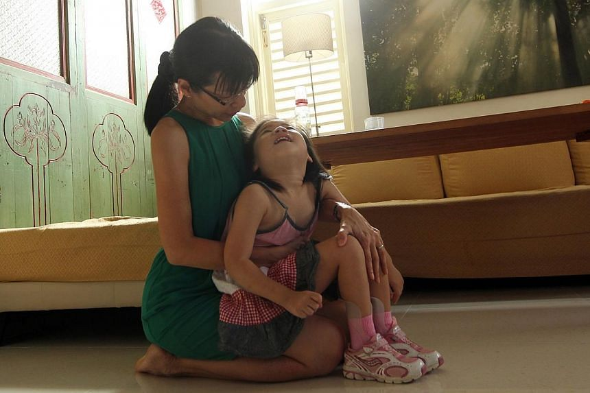 Five-year-old Grace Tan was born with Pyruvate Dehydrogenase Complex Deficiency (PDCD), an extremely rare condition that delays mental and physical growth. There are only three diagnosed PDCD cases in Singapore and about 500 cases worldwide. --