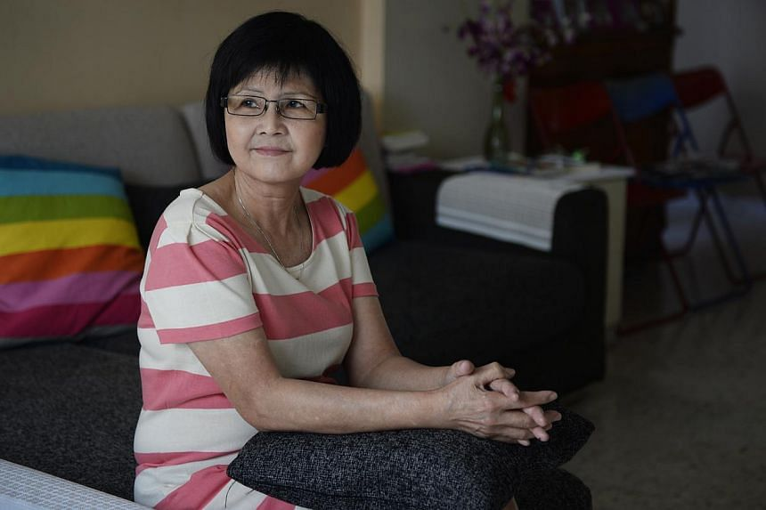 Madam Lau had moved in with her daughter after her husband died.