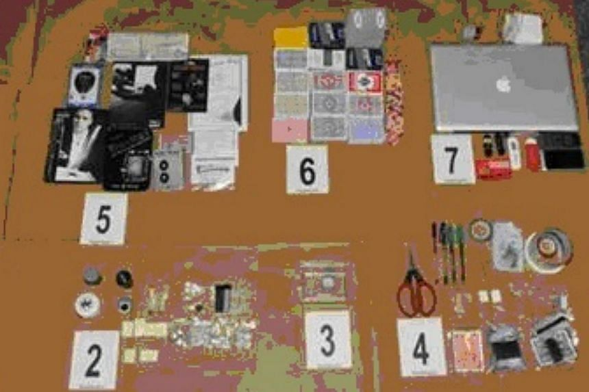 Police have arrested a 30-year-old man for the possession and use of items believed to have facilitated his cheating at the Marina Bay Sands casino. Police have arrested a 30-year-old man for suspected cheating at the Marina Bay Sands (MBS) casino. H