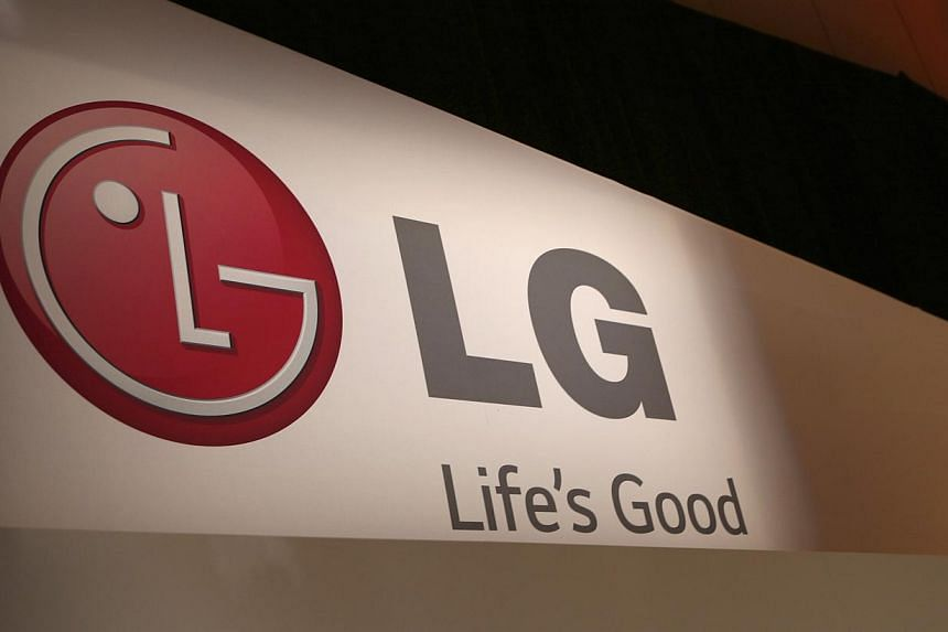 The LG company logo is seen following an event during the annual Consumer Electronics Show (CES ) in Las Vegas, Nevada on Jan 6, 2014. -- FILE PHOTO: REUTERS