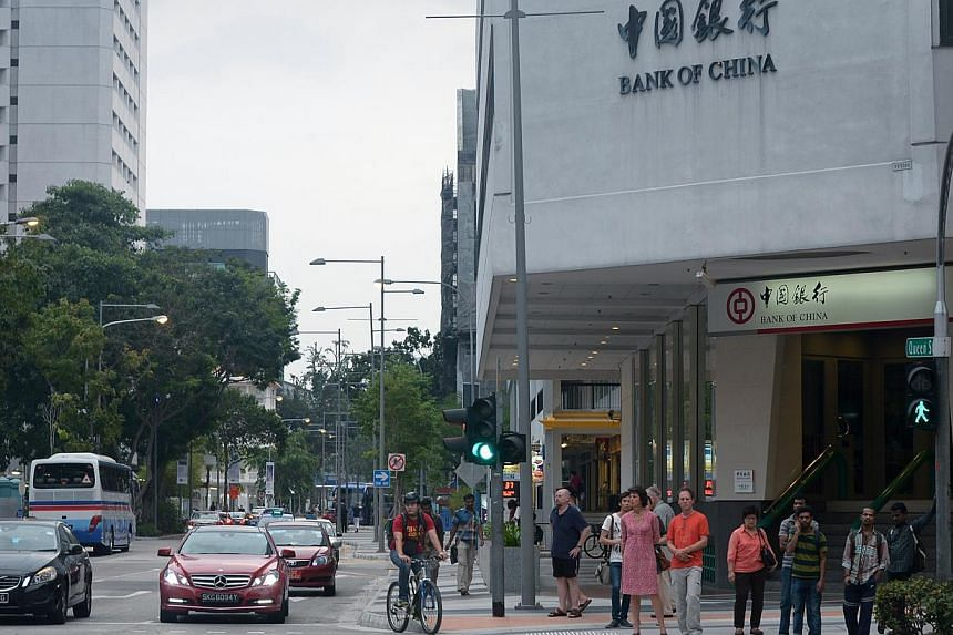 An artist's impression of Queen Street (above) after the URA's renovation of the area is completed. Arts groups say they have been eagerly waiting to use the outdoor space for activities,  but residents and business owners in the Queen Street area (b