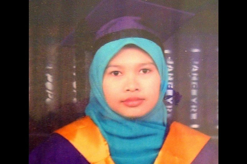 The court heard last week that Nurul Rohana Ishak is of unsound mind and unfit to make a plea.