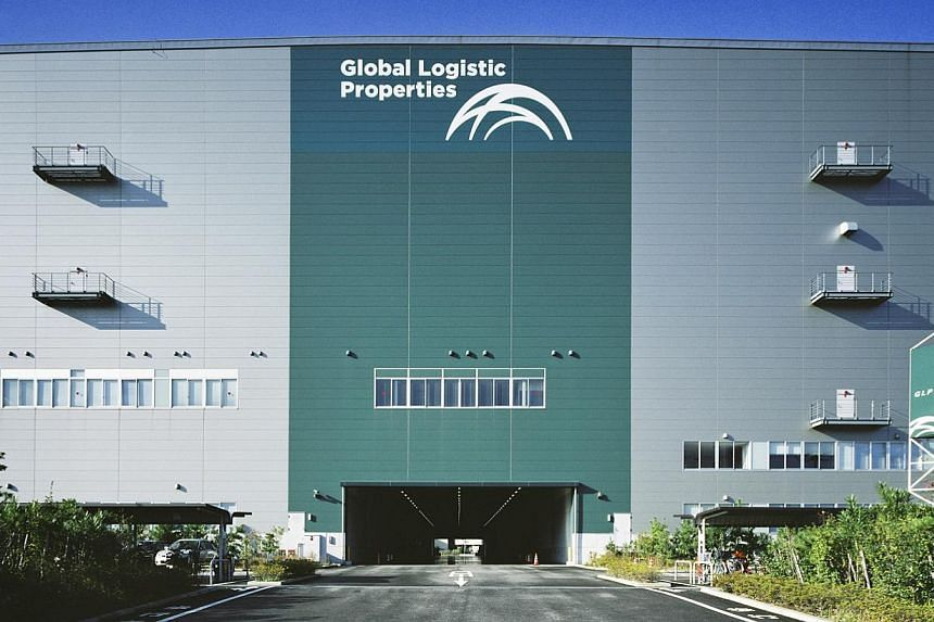 A property in the eastern city of Urayasu that belongs to Global Logistic Properties (GLP). GLP said on March 3, 2014, that it has signed a strategic partnership agreement with Bank of China, under which the bank will provide supply chain financing t
