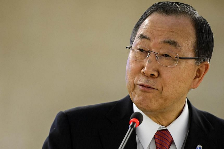 UN Secretary General Ban Ki-moon called Monday, March 3, 2014, on Russia to avoid actions that might worsen the situation in crisis-hit Ukraine. -- PHOTO: AFP