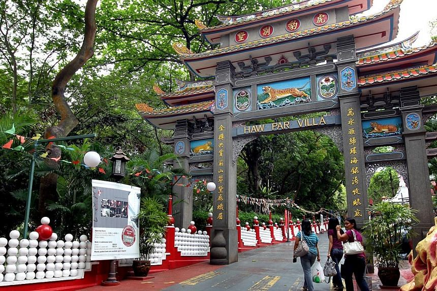 In its heyday in the early 1980s, Haw Par Villa attracted over a million visitors annually and was Singapore's fourth most popular tourist attraction. Those who live here can rediscover Singapore and familiar attractions like Haw Par Villa through