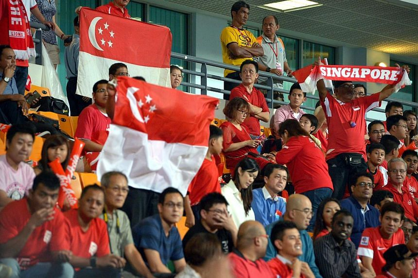StarHub has announced that Singapore's final Asian Cup football qualifier against Oman will be shown live at 9.30pm on Wednesday. -- ST FILE PHOTO: KUA CHEE SIONG