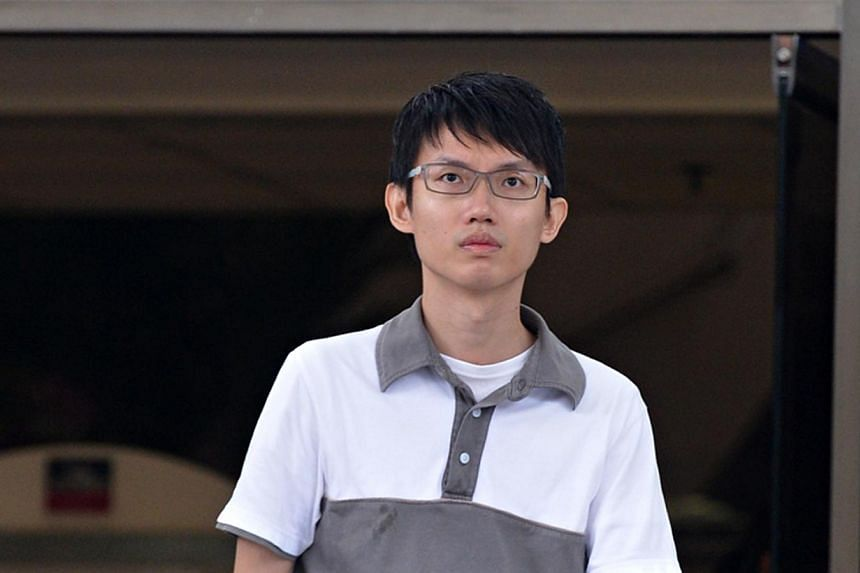 Be Keng Hoo, a former test engineer who took upskirt videos more than 200 times in the space of 10 months  was sentenced to nine months' jail on Tuesday, Mar 4, 2014. -- ST FILE PHOTO: NURIA LING