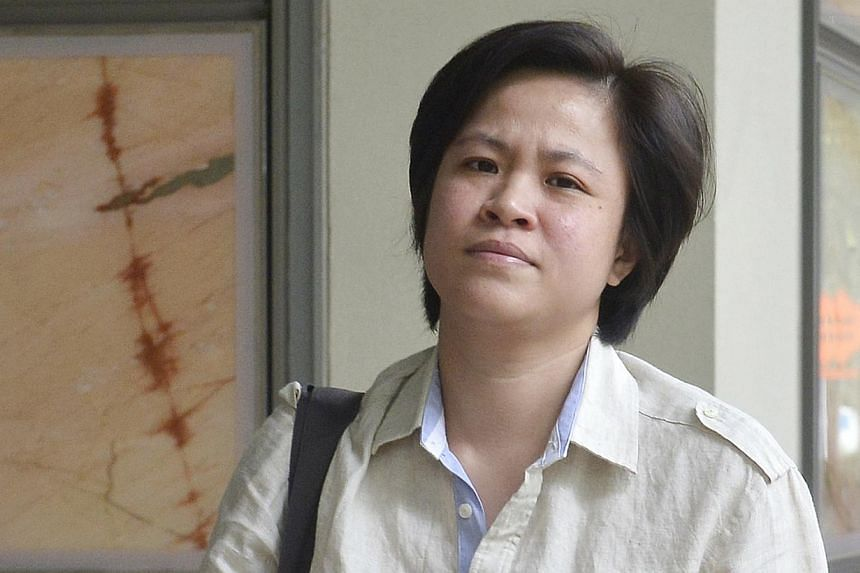 Singaporean Fatimah Kumin Lim (above), a former national badminton player, has been acquitted of stealing millions worth of diamonds belonging to the ex-wife of the Sultan of Brunei. -- ST FILE PHOTO: ASHLEIGH SIM