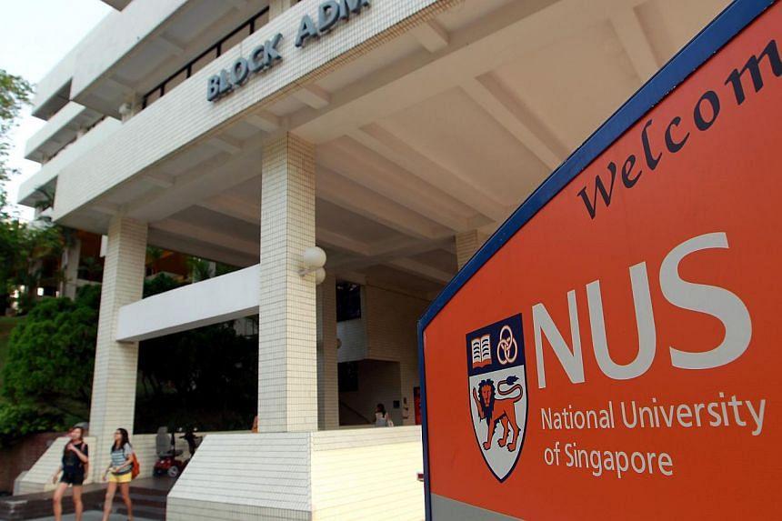 The National University of Singapore (NUS) campus. -- ST FILE PHOTO:SEAH KWANG PENG