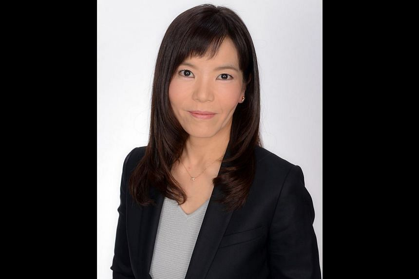 This handout picture released by Japan's biggest brokerage Nomura Holdings on March 5, 2014 shows Ms Chie Shimpo, the newly appointed president of Nomura Trust and Banking in Tokyo. Japan's biggest brokerage Nomura Holdings said on March 6 it has cho