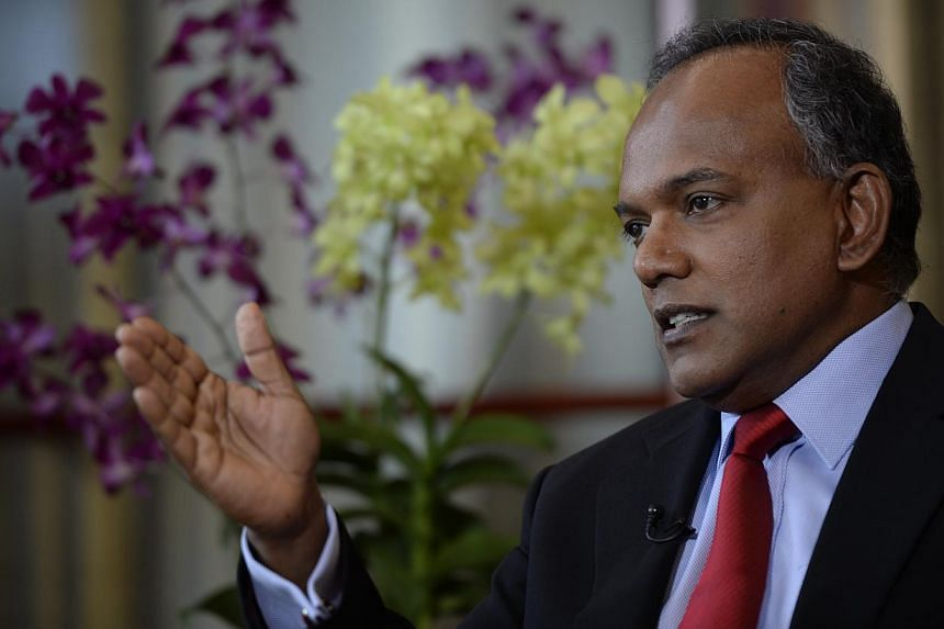 Malaysia lost its right to review the price of raw water sold to Singapore after choosing not to do so in 1987, Foreign Affairs Minister K. Shanmugam said on March 6, 2014. -- ST FILE PHOTO: DESMOND LIM