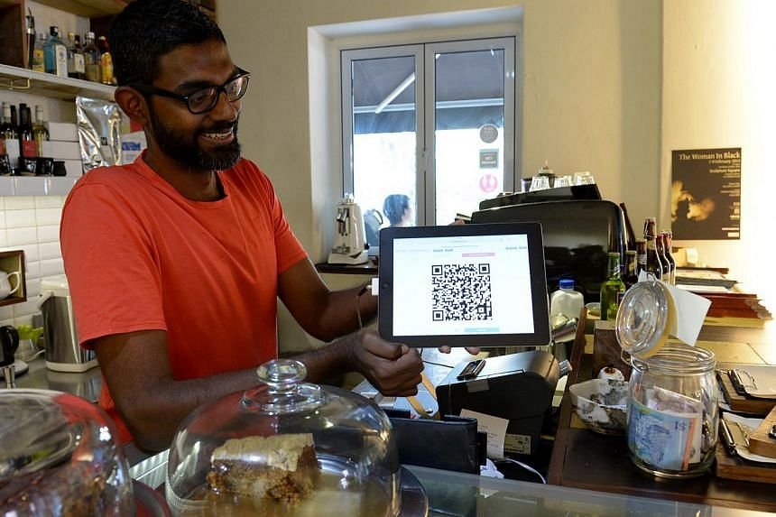 Mr Prashant Somosundarm, owner of Artistry Cafe in Jalan Pinang, is one of the few local businesses which accepts Bitcoins, a virtual currency, as payment. -- FILE PHOTO: BERITA HARIAN