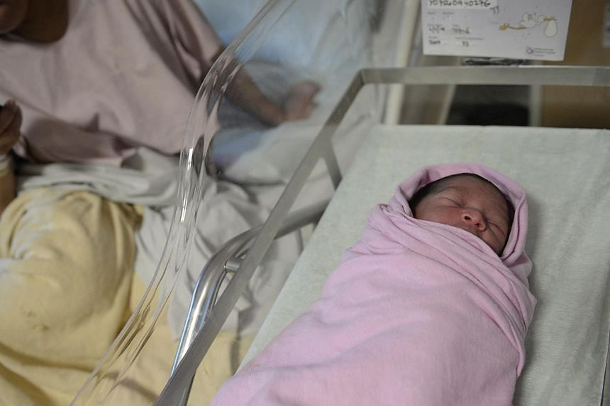 The yet-to-be-named daughter of Ms Suhana Agus Abdul Salam, a 26-year-old Malaysian, was born several weeks early on SBS Transit service 170X.