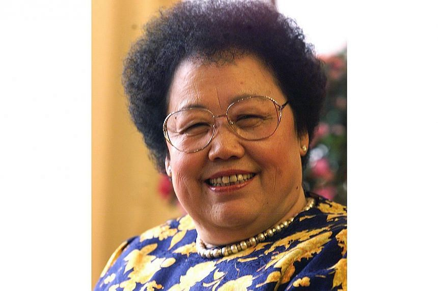 Ms Chan Laiwa, 73, also known as Chen Lihua, comes in at 234th on the Forbes' billionaires list. Ms Chen is the founder of Fu Wah International Group, one of China's largest commercial property developers. -- FILE PHOTO:REUTERS