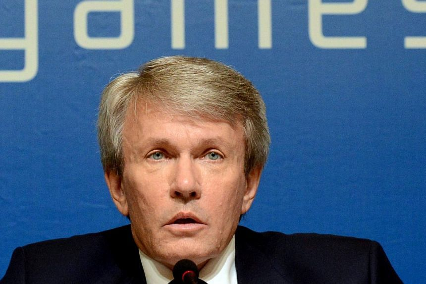 Ukraine's Paralympic chief, Valeriy Sushkevich, said on Friday, March 7, 2014, his team would quit the Winter Paralympic Games if Russia invaded his home country, and that he hoped the competition would be able to spread peace instead. -- PHOTO: AFP